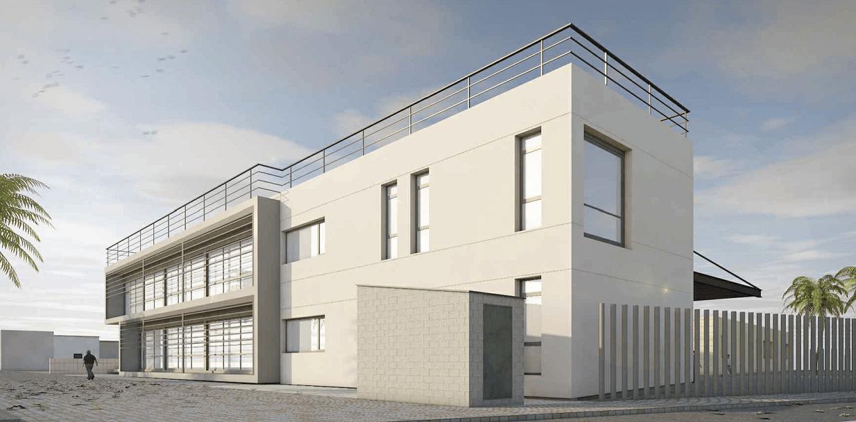 Grupo imesapi construcci n de la nueva oficina integral for Oficina de tesoreria de la seguridad social