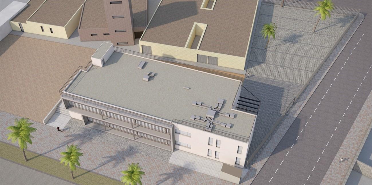 Grupo imesapi construcci n de la nueva oficina integral for Oficina seguridad social terrassa